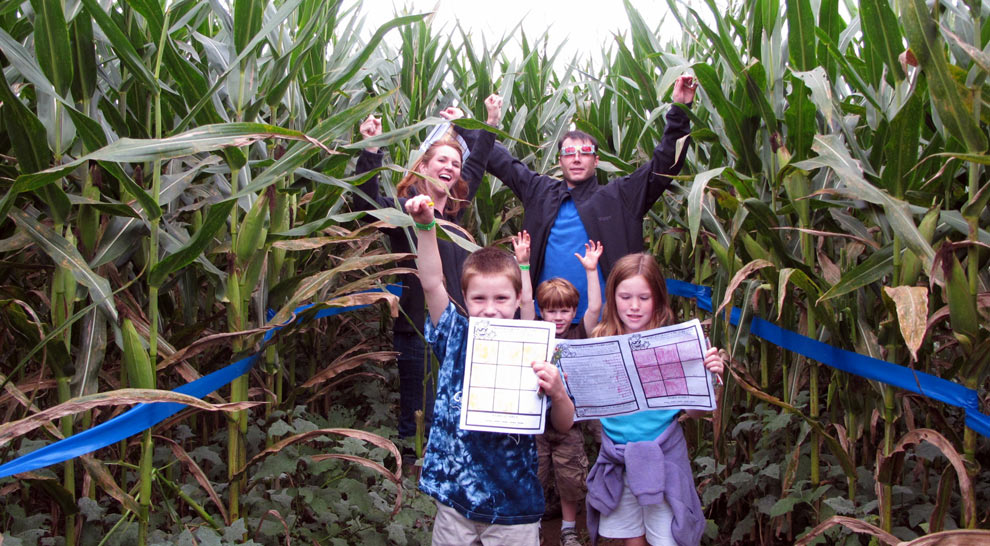 Maize Quest Fun Park & Corn Maze - New Park, PA