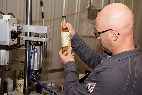 Maple Lawn Winery & Cider House - Bottling